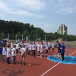 Neal Meyer iš NBA Lonodone rikiuoja vaikus treniruotei