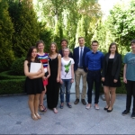 ASSIST Lietuva 2015/2016 metų stipendijų laureatai Vilniuje
