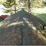 Namelio stogas prieš keitimą