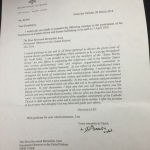 Pope Francis' letter for the Conference