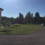School, surrounded by woods and a small village, is located in beautiful peaceful Rudiskes, Trakai Region, Lithuania