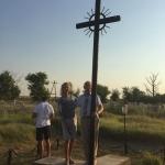 Monumentas Lietuvių tremtinių atminimui ir grandinės, kuriomis jie buvo surakinti, kad nepabėgtų iš penkis mėnesius trukusios kelionės