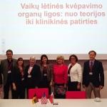 """Konferencijos """"Vaikų lėtinės kvėpavimo organų ligos: nuo teorijos iki klinikinės patirties"""" dalyviai"""