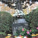 Kazickas' final resting place