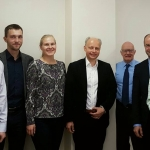 Meeting with the Head of the Lithuanian University of Health Sciences dr. R. Zaliunas. (c) SMK photo