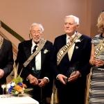 Dick Durbin, Stanley Balzekas, Jr. President Valdas Adamkus and Juratė Kazickas