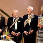 Dick Durbin, Stanley Balzekas, Jr. President Valdas Adamkus and Juratė Kazickas.