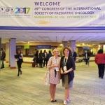 Gydytojos R. Nemanienė ir S. Stankevičienė SIOP kongrese Vašingtone, DC