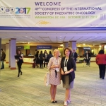 Doctors R. Nemaniene and S. Stankeviciene at SIOP Congress in Washington, DC