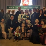 """Life Awards 2018"" recipients. Photo: Ateitininkai Federation FB"