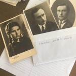 Panevezys city library has archives with Alexandra's picture and letters dedicated and sent to her teachers. Pictures and letters had been cherished and donated by the teachers' families.