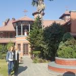 Iš asmeninio S. Lazdauskaitės archyvo: Ėmimo į Dangų bažnyčia, Katmandu