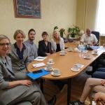 Svečių ir darbo grupės susitikimas