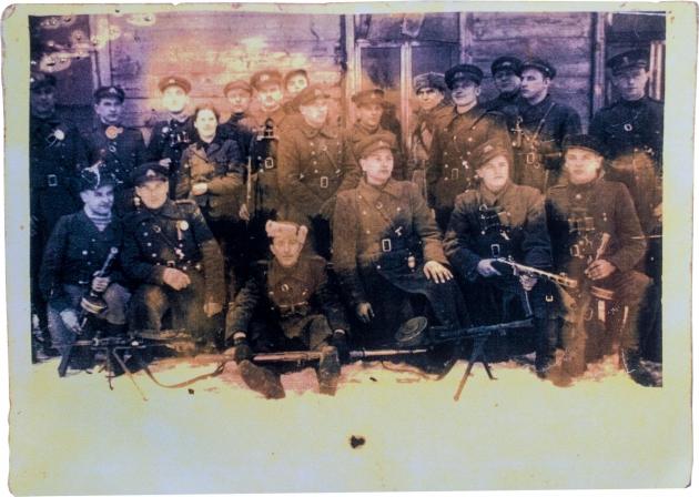 Rūtenis's unit circa 1948