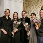 Agne Vertelkaite (KFF), Viktorija Bedalyte (soprano), Renata Marcinkute Lesieur (piano), Ieva Sriebaliute (KFF), Anastasija Archipova (Museum of A. Pushkin)