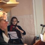 Renata Marcinkutė-Lesieur (vargonai) ir Rugilė Juknevičiūtė (violončelė)