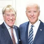 R. Altman and J. Biden (photo from J. Kazickas personal archive)