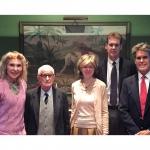 Renata Marcinkute-Lesieur with prof. Leopoldas Digrys, Jurate Kazickas, John Kazickas and Michael Kazickas