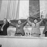 Lietuvos Seimas paskelbia nepriklasuomybę 1990 m. kovo 11 d. / Paulius Lileikis