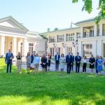 BTLT dalyviai su Prezidentu ir Pirmąja Ponia