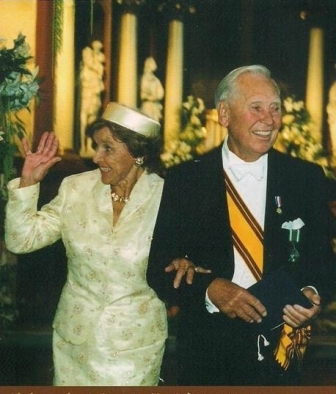 60th wedding anniversary in Vilnius, Lithuania 2001