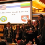 Lithuanian Youth Leaders in the US,  2010