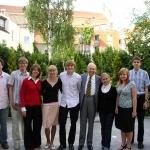 ASSIST dalyviai su Dr. J. P. Kazicku ir JAV Ambasados atstove R. Rathod Vilniuje 2008