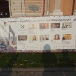 Festival banner, Vilnius 2013