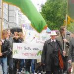 No tobacco walkathon, Vilnius 2013