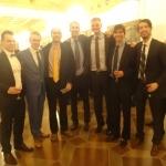 Jaunieji Kazickai su SKM vadovais Vilniuje, 2014 11
