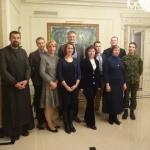 LT organizacijų atstovai Kazickų Rezidencijoje Vilniuje, 2014 12
