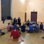 Jurate Kazickas and Alexandra Altman Visit Basketball Power Youth at Veliucionys Juvenile Detention Center, March 2017