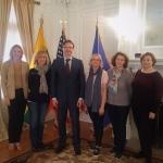 Pediatrinės onkologijos gydytojų iš Lietuvos vizitas į Tarptautinį Vaikų Onkologijos Draugijos kongresą Washington, DC