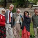 karilijonierius Auke de Boer su žmona Janny, kompozitorius Joseph Johannes Visser, pianistė Lina Krėpštaitė ir Nyderlandų ambasadorius H.E. Mr. Bert van der Lingen