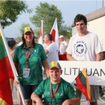 Lithuania Represented at the CPISRA (Cerebral Palsy International Sports and Recreation Association) Summer Games
